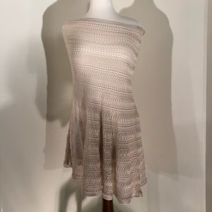Chicos Stunning Lace Poncho; size L/XL